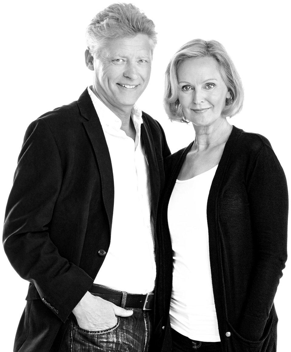 Mann und Frau, Schwarzweiß